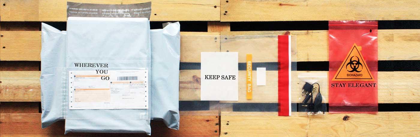 Ziplock Bags Plastic Bags Tamper Evident Packaging Supplier
